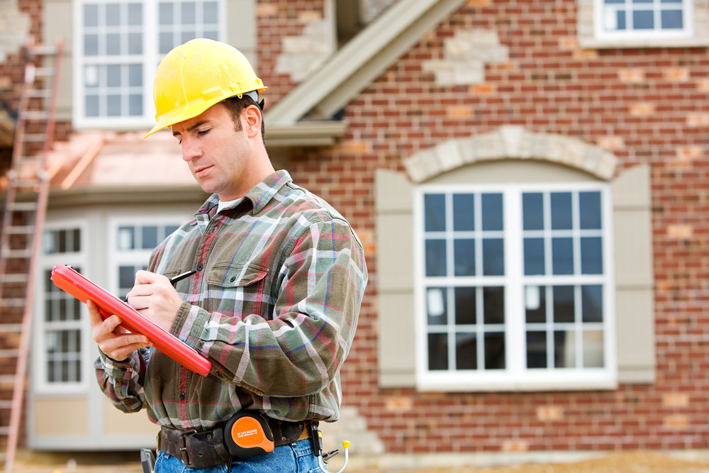 home inspector, house, real estate